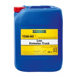 RAVENOL Low Emission Truck SAE 15W-40 20L