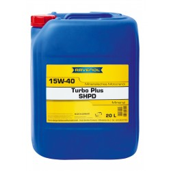 RAVENOL Turbo-Plus SHPD SAE 15W-40 20L