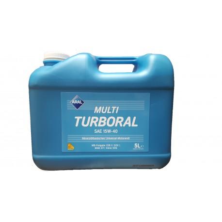 MULTI TURBORAL  15W-40 5L