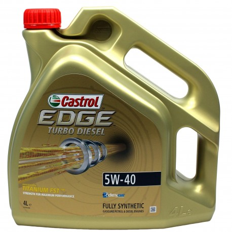 CASTROL Edge TURBO DIESEL 5W-0 4L