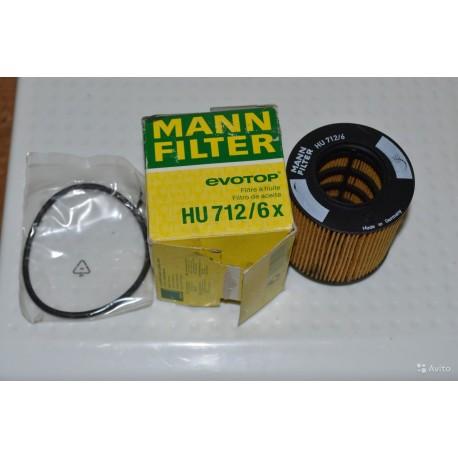 MANN FILTRU ULEI HU712/6X